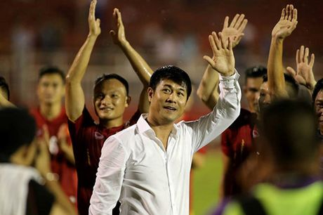 Dieu uoc cua HLV Huu Thang o tran gap Indonesia - Anh 1
