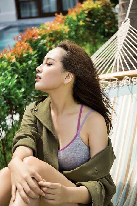 Mai Phuong Thuy khoe duong cong nong bong, vong 1 tron cang - Anh 6