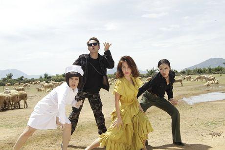 Diem My 9X lan dau hat nhac phim trong 'Chay di roi tinh' - Anh 1
