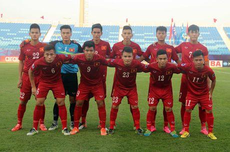Cau thu U19 lam nong cot DT U22 Viet Nam dau Trung Quoc - Anh 1