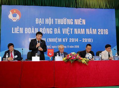 Bau Duc vang mat o Dai hoi Thuong nien VFF nam 2016 - Anh 1
