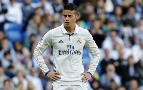 Chan Real, James Rodriguez mo cua den Juve - Anh 1
