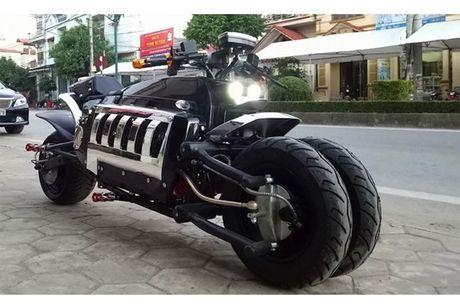 Dan choi Viet phat sot voi sieu moto 'Tau nhai' gia 28 trieu - Anh 3