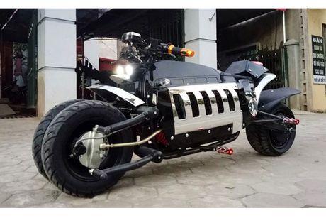Dan choi Viet phat sot voi sieu moto 'Tau nhai' gia 28 trieu - Anh 4