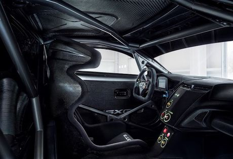 Sieu xe dua Honda NSX-GT sieu ngau, dong co 'sieu nho' - Anh 3