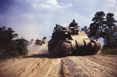 Vi sao xe tang M3 Lee khong duoc My trong dung? - Anh 4
