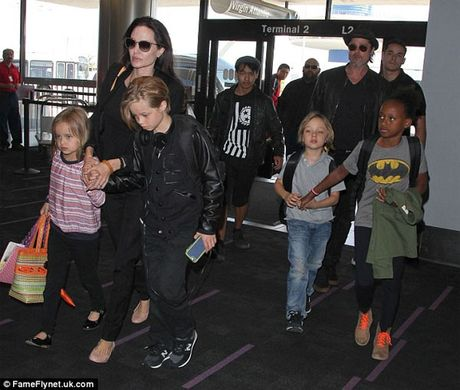 Angelina Jolie tiep tuc duoc quyen nuoi con - Anh 2