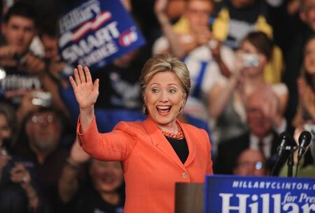 Ba Hillary Clinton nam 90% co hoi tro thanh Tong thong My! - Anh 1
