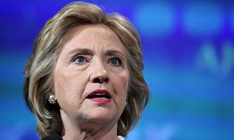 Diem xau cho ba Hillary truoc them 'cuoc chien sinh tu'? - Anh 1