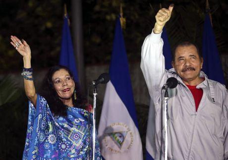 Bau cu Nicaragua: Tong thong Ortega chien thang nhiem ky 3 - Anh 1