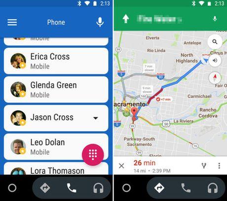 Chuc nang Android Auto da co ung dung chay doc lap - Anh 2