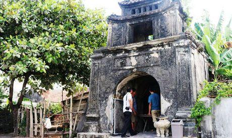 Phat hien Van Mieu co do so o Ha Tinh - Anh 1