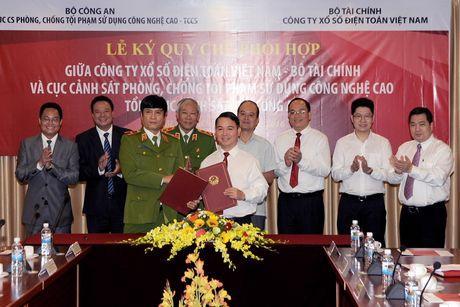 Dam bao an ninh cong nghe trong kinh doanh xo so dien toan - Anh 1