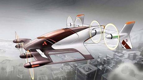 Airbus sap thu nghiem 'tacxi bay' khong nguoi lai - Anh 1
