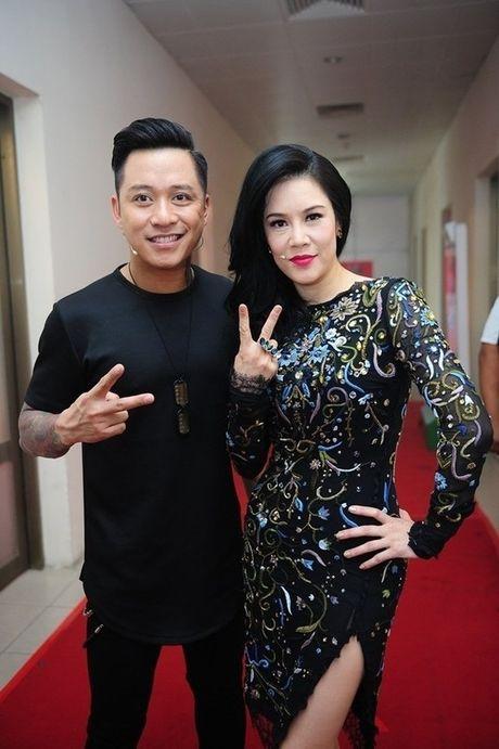 Lum xum 'quay lung' cua cac cap ban than 'nuc tieng' showbiz Viet - Anh 2