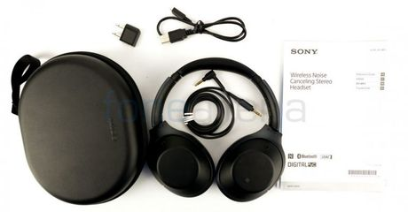 Sony gioi thieu tai nghe Bluetooth triet tieu tieng on - Anh 1