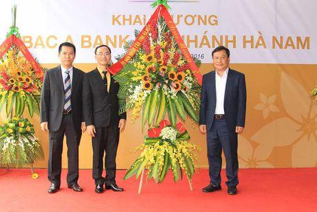 BAC A BANK khai truong Chi nhanh tai Ha Nam - Anh 1