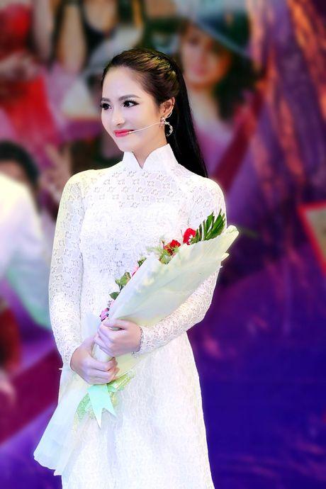 Duong Kim Anh dien ao dai, hat bolero 'ngot lim' - Anh 4