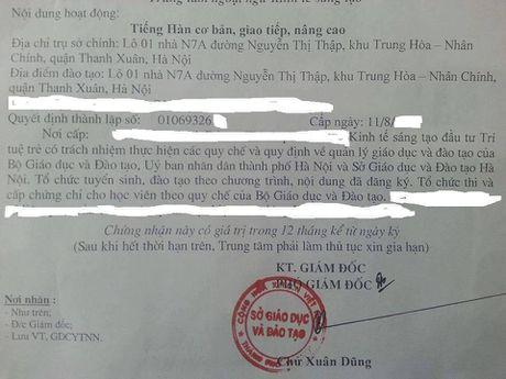 Thay giao trung tam du hoc chui bay: Nghi van chuc danh giao su thuoc dai hoc 'ma'? - Anh 4