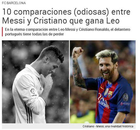 Ronaldo gia han, bao than Barca loi Messi ra so sanh - Anh 1