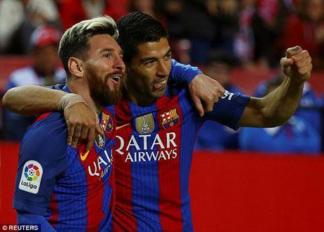 """Song tau"" Messi – Suarez: Nhu mot cap troi sinh - Anh 1"