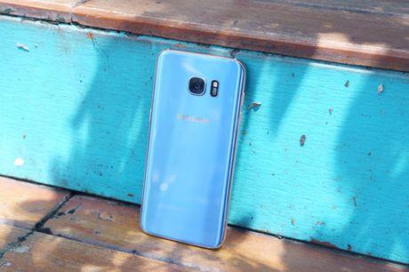 Galaxy S7 edge Xanh Coral - Ve dep tu su an nhien - Anh 2