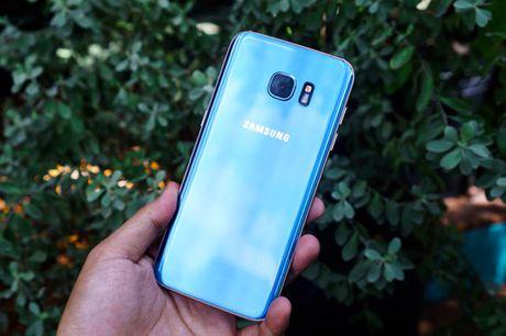 Galaxy S7 edge Xanh Coral - Ve dep tu su an nhien - Anh 4