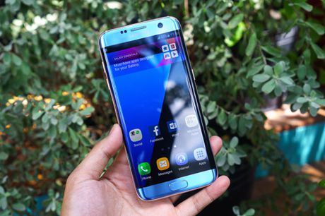 Galaxy S7 edge Xanh Coral - Ve dep tu su an nhien - Anh 8