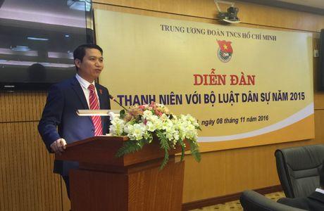 Dien dan 'Thanh nien voi Bo luat Dan su 2015' - Anh 2