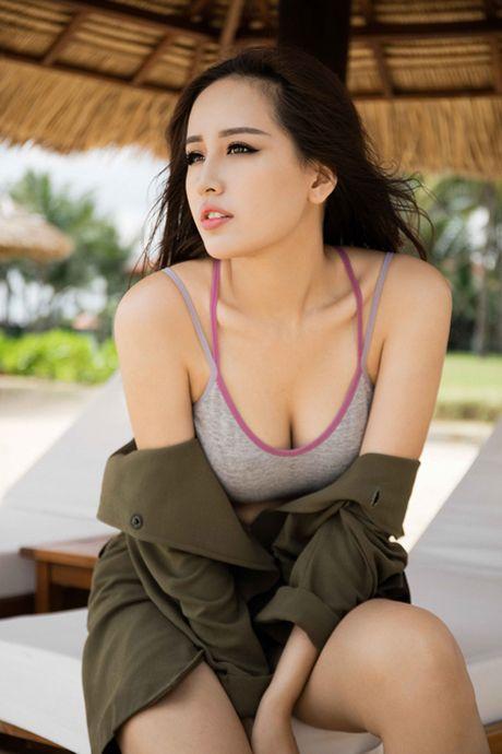 Hoa hau Mai Phuong Thuy goi cam ben bien Nha Trang - Anh 4