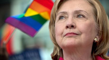 Hillary Clinton: 'Toi luon ung ho cong dong LGBT' - Anh 1