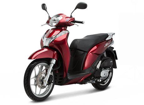 Honda Viet Nam gioi thieu phien ban moi cua SH Mode 125cc - Anh 2