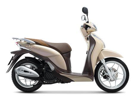 Honda Viet Nam gioi thieu phien ban moi cua SH Mode 125cc - Anh 3