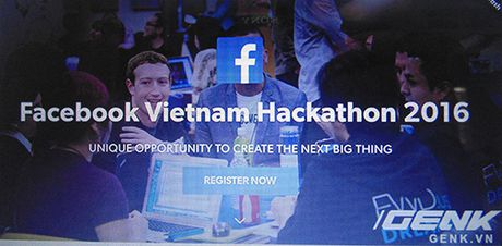 Facebook Vietnam Hackathon 2016 - Cuoc thi rut ngan thoi gian xay dung san pham - Anh 1