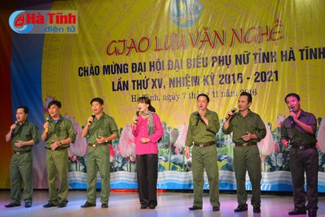 Lien hoan van nghe mung Dai hoi Phu nu tinh Ha Tinh - Anh 10