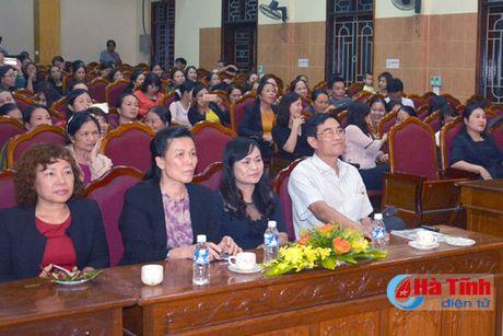 Lien hoan van nghe mung Dai hoi Phu nu tinh Ha Tinh - Anh 2