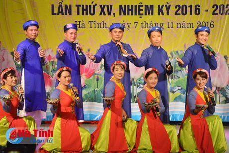 Lien hoan van nghe mung Dai hoi Phu nu tinh Ha Tinh - Anh 5