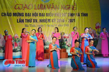 Lien hoan van nghe mung Dai hoi Phu nu tinh Ha Tinh - Anh 8