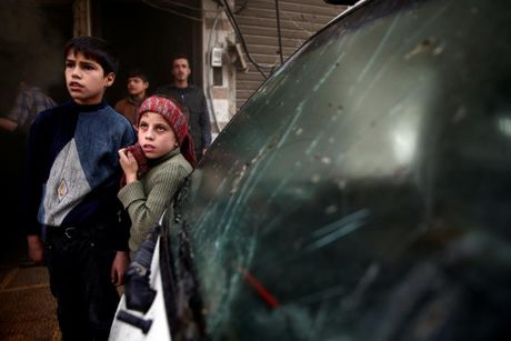 Thu do Damascus, Syria tan hoang sau nhung cuoc khong kich - Anh 6