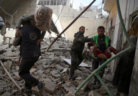Thu do Damascus, Syria tan hoang sau nhung cuoc khong kich - Anh 7