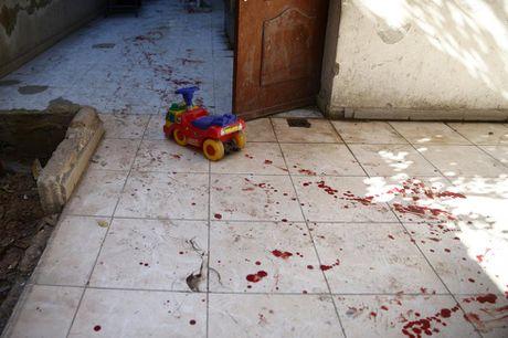 Thu do Damascus, Syria tan hoang sau nhung cuoc khong kich - Anh 8