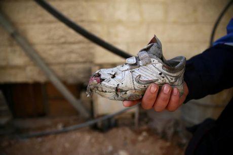 Thu do Damascus, Syria tan hoang sau nhung cuoc khong kich - Anh 9
