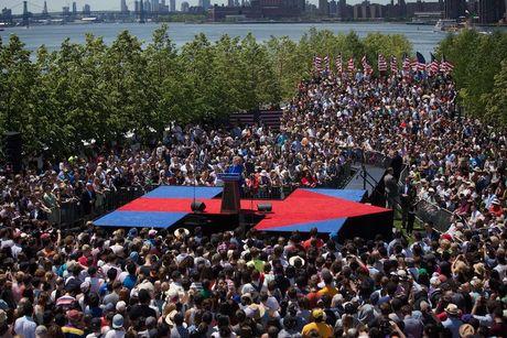 Ba Hillary Clinton tu tin vao chien thang: 'Viec chung ta lam moi chi thuc su bat dau' - Anh 2