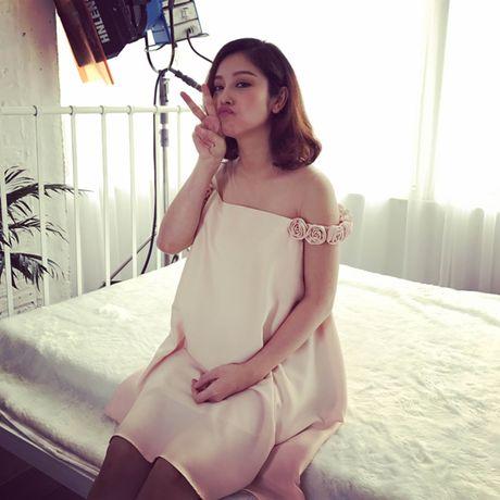 Jennifer Pham 'vac' bung bau 7 thang di chup hinh - Anh 3