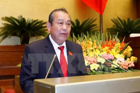 Pho Thu tuong Truong Hoa Binh: Bien mien Trung da an toan - Anh 1