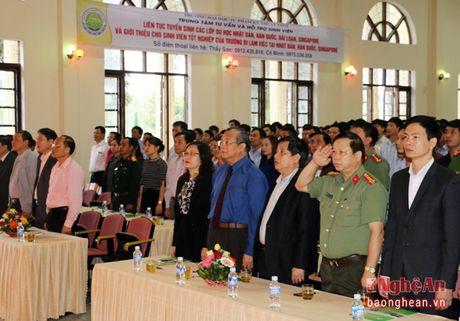 Thu truong Bo LD-TB&XH du le khai giang o truong Dai hoc Su pham ky thuat Vinh - Anh 1