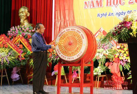 Thu truong Bo LD-TB&XH du le khai giang o truong Dai hoc Su pham ky thuat Vinh - Anh 2