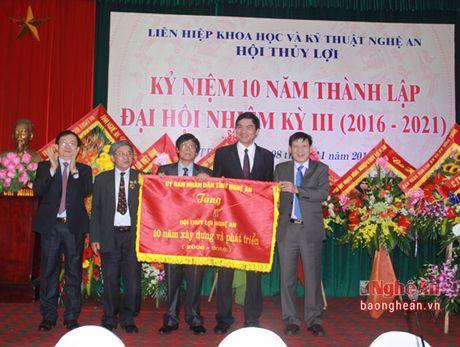 Hoi thuy loi Nghe An dai hoi nhiem ky 2016 – 2021 va ky niem 10 nam thanh lap - Anh 3