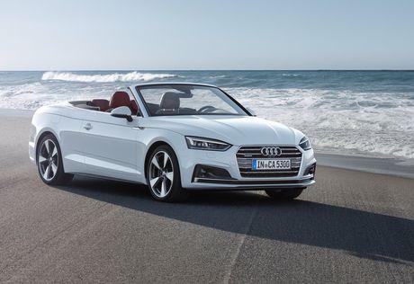 Audi trinh lang A5 Cabriolet 2018 - Anh 1