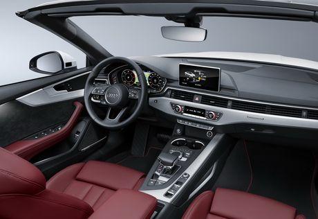 Audi trinh lang A5 Cabriolet 2018 - Anh 2